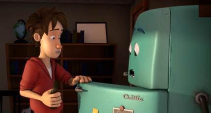 美国动画短片《离家出走的冰箱》