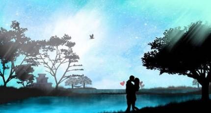 爱情语录:真心相爱的两个人,不会输给外貌距离
