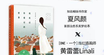 (夏风颜)爱情暖心故事青春文学畅销书籍《我来过你爱过的世界》