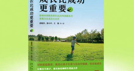 (俞敏洪、徐小平等)家庭教育畅销书籍《成长比成功更重要》