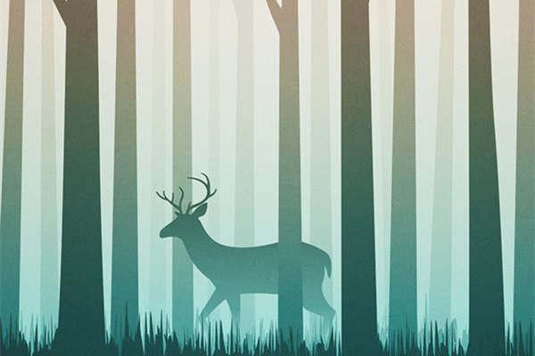 林深时见鹿,夜深时不见你