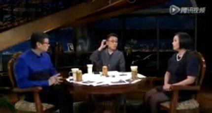 """周轶君、许子东《锵锵三人行》:""""软医疗""""广告收入百度远超谷歌"""