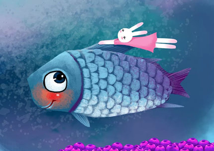 儿童睡前有声故事《苹果鱼》在线收听