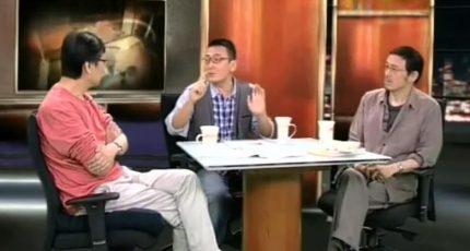 马家辉、许子东《锵锵三人行》:鲁迅与原配是脱离了环境坚持了概念