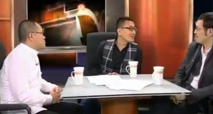 """马家辉、梁文道《锵锵三人行》:电影""""讲道理""""不如踏实说故事"""