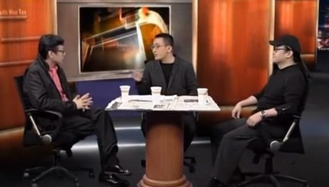 刘欢、许子东《锵锵三人行》:谈《中国好声音》