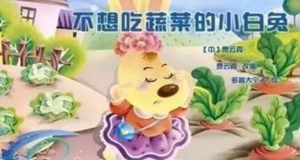 儿童睡前有声绘本故事《不想吃蔬菜的小白兔》在线收听